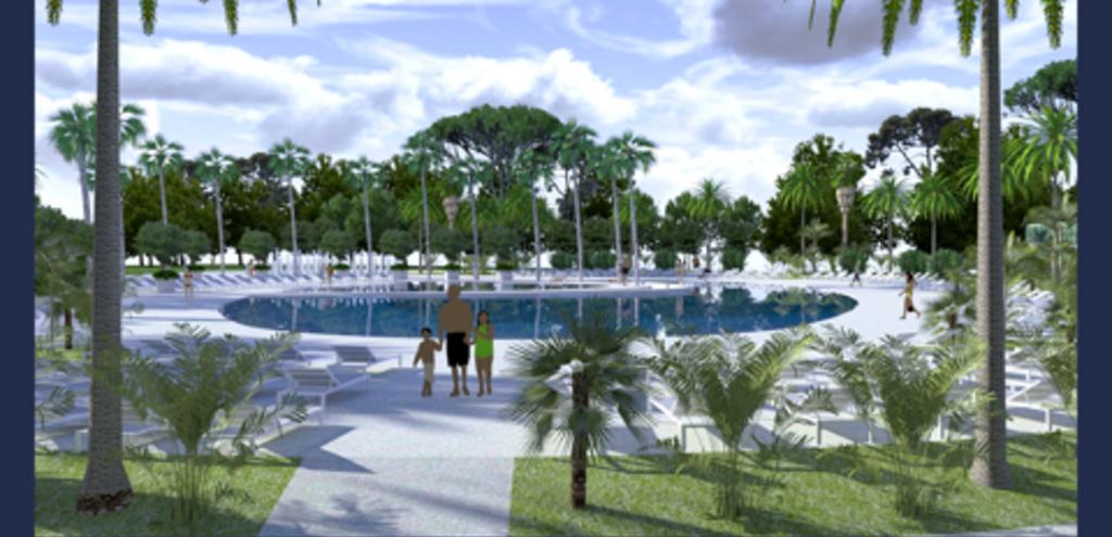 Nouvelle piscine de 1000m² ouverte le 1er juillet 2018